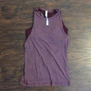 Lululemon tank with built-in bra